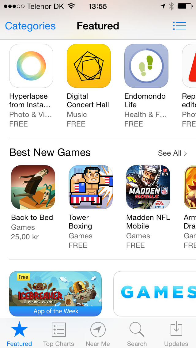Best New Games (App Store)