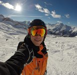 Having a good time as skiguide for Nortlander Skitours! (Ischgl, Austria 2014/2015).