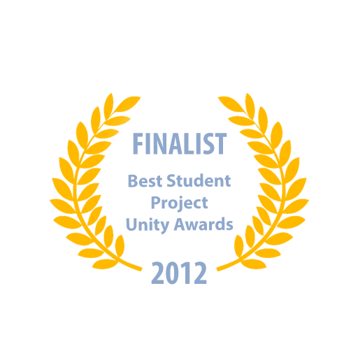 Best Student Project finalist at the Unite Unity Awards in Amsterdam, Netherlands 2012 (Click to open link).